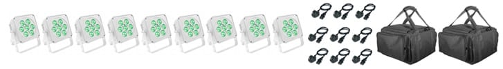 Medium Room uplighting Standard kit (RGBWA)