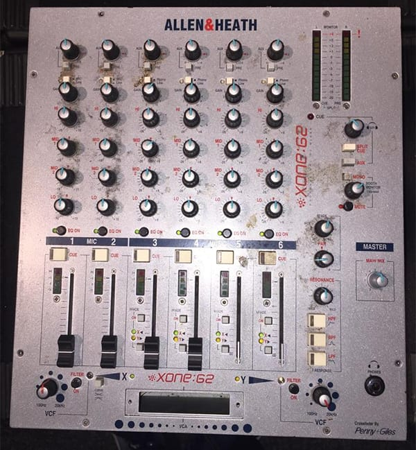 allen & Heath mixer repair