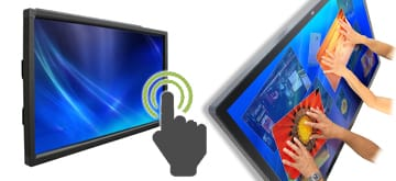 touch screen hire