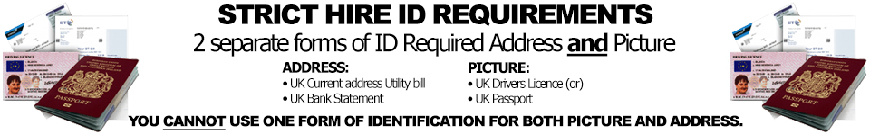 ID required to collect Hires