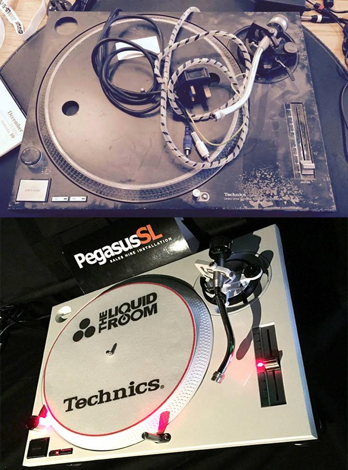 Technics 1210 Repair Edinburgh Servicing Modification