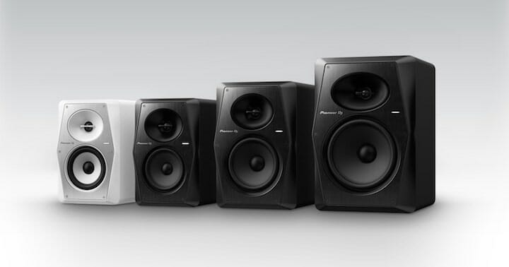 Pioneer DJ VM monitor speakers